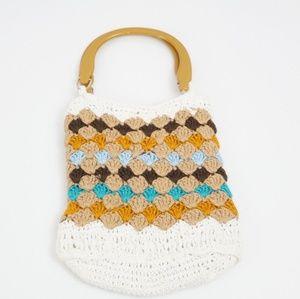 3 for $10 SALE Vintage Crochet Handbag Purse